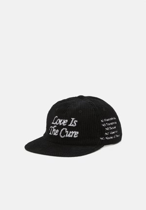THE CURE PANEL STRAPBACK UNISEX - Lippalakki - black