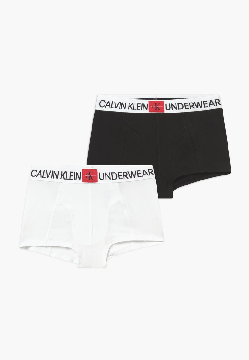Calvin Klein Underwear - TRUNKS 2 PACK - Pants - white