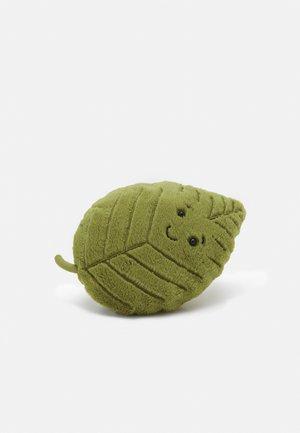 WOODLAND BEECH LEAF LITTLE UNISEX - Cuddly toy - green