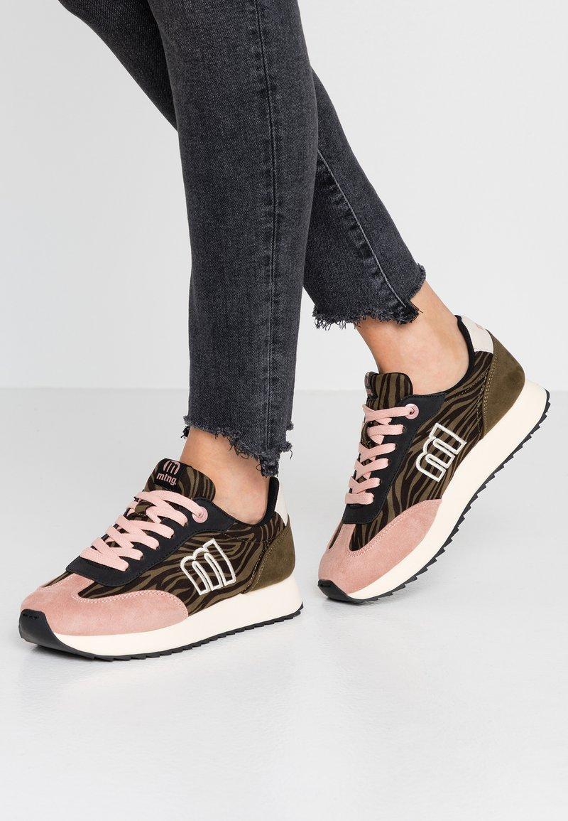 mtng - NORA  - Sneakers - soft rosa/kaky/yoda natural