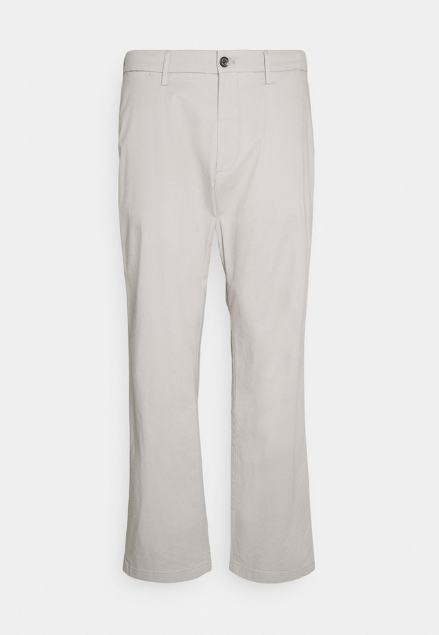 MADISON PRINTED STRUCTURE - Chino kalhoty - sterling grey