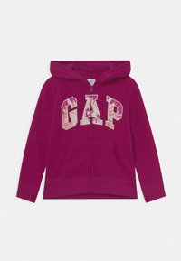 GAP - LOGO - Zip-up sweatshirt - orchid blossom - 0