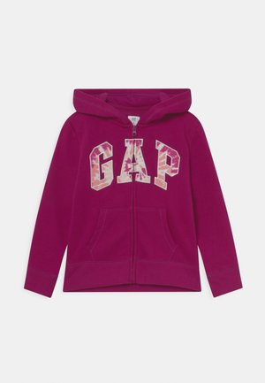 LOGO - Sweater met rits - orchid blossom