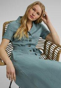 Esprit - Shirt dress - turquoise - 6