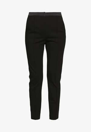PUNTO PANTS  - Bukse - black