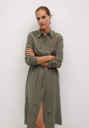ALEXIS - Shirt dress - braun