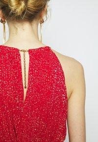 MICHAEL Michael Kors - PLEATD HALTR - Cocktail dress / Party dress - crimson - 7