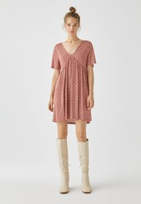 PULL&BEAR - Day dress - light brown - 1