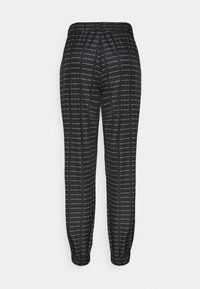 Missguided - SMALL BRANDED JOGGER  - Tracksuit bottoms - black - 1
