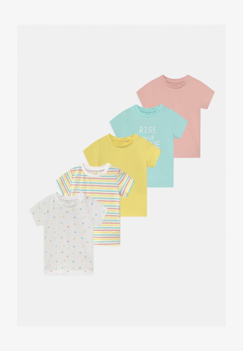 Name it - NBFBODIL 5 PACK - Print T-shirt - limelight