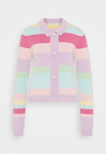 THANDIE - Cardigan - lilac/pink/light pink