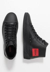 HUGO - Sneakersy wysokie - black - 1