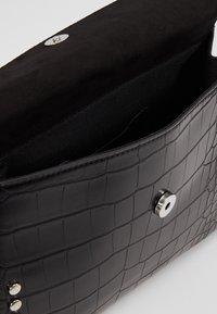 Topshop - RETRO STUDDED SHOULDER - Handbag - black - 4