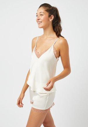Pyjama bottoms - ecru