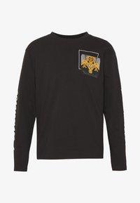 Nominal - ROME TEE - Långärmad tröja - black - 5