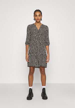 Shirt dress - black/white