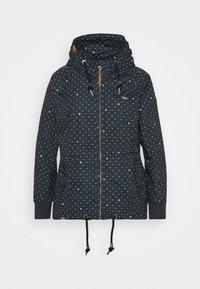 Ragwear Plus - DANKA DOTS - Short coat - navy - 5