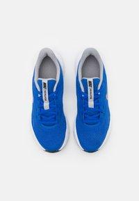 Nike Performance - REVOLUTION 5 UNISEX - Neutral running shoes - game royal/light smoke grey/white - 3