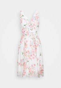 WAL G. - ISABELLE V NECK DRESS - Cocktail dress / Party dress - cream - 4