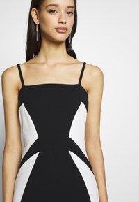 WAL G. - DETAIL DRESS - Vestido de fiesta - black/white - 6