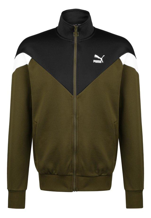 TRAININGSJACKE ICONIC MCS PT - Training jacket - dark olive