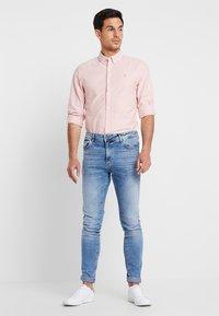 Farah - BREWER SLIM FIT - Shirt - peach - 1