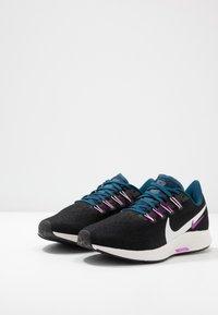 Nike Performance - AIR ZOOM PEGASUS 36 - Stabilty running shoes - black/summit white/valerian blue/vivid purple - 2