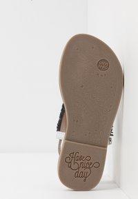 Gioseppo - BERMUDAS - T-bar sandals - blue - 5