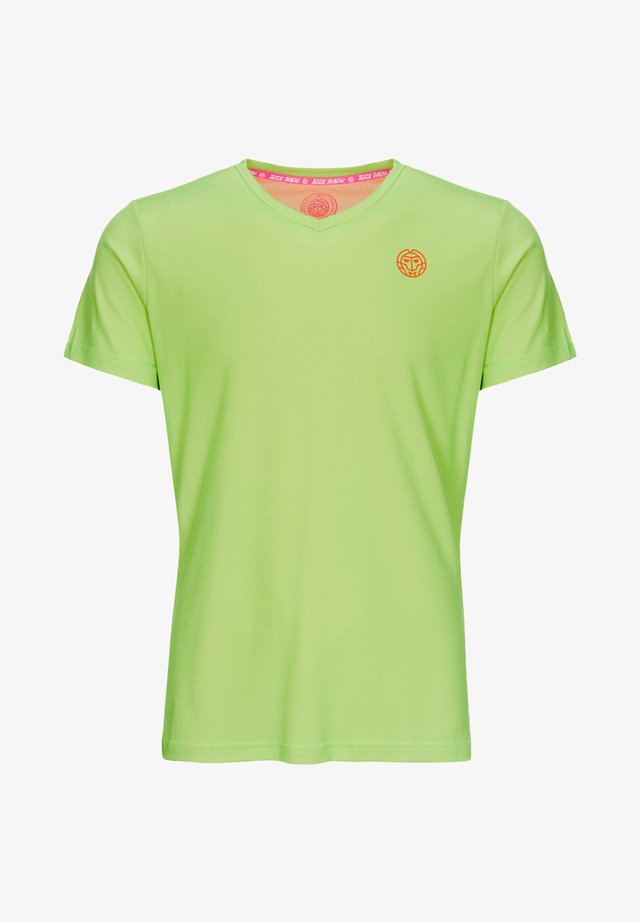 Sports shirt - neongrün/neonorange