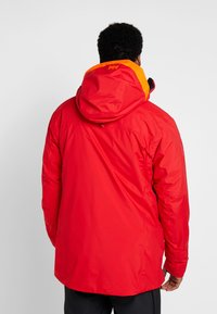 Helly Hansen - STRAIGHTLINE LIFALOFT JACKET - Snowboardová bunda - alert red - 2