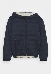 Abercrombie & Fitch - COZY PUFFER - Winter jacket - navy - 0