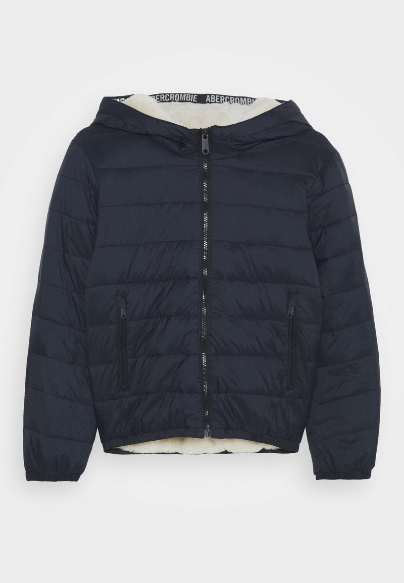 Abercrombie & Fitch - COZY PUFFER - Winter jacket - navy