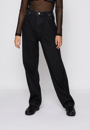 FASHION BAGGY - Jeans relaxed fit - denim black