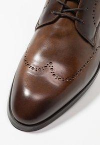 Giorgio 1958 - Lace-up ankle boots - marrone/blu - 5
