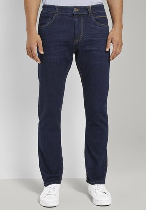 Slim fit jeans - clean raw blue denim