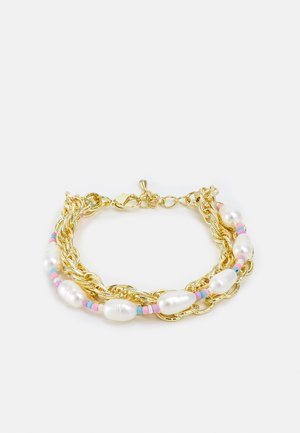 Bracelet - gold & pastel
