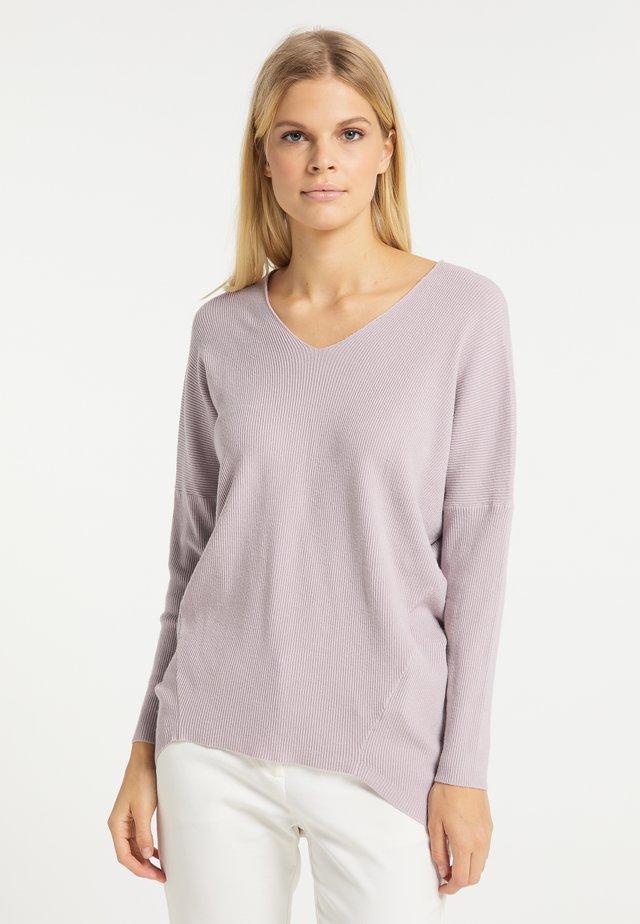 Sweter - flieder