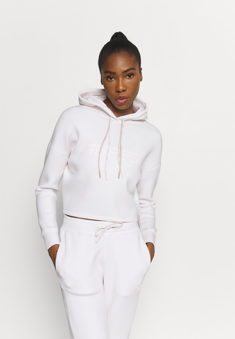 Guess - HOODED - Sweatshirt - touch of mauve