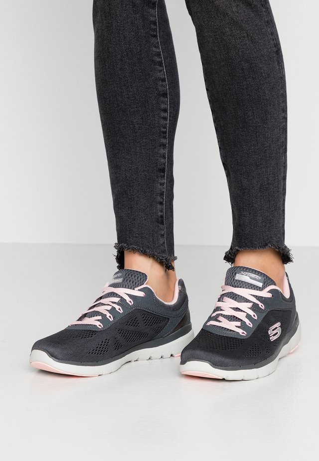 FLEX APPEAL 3.0 - Trainers - charcoal/pink
