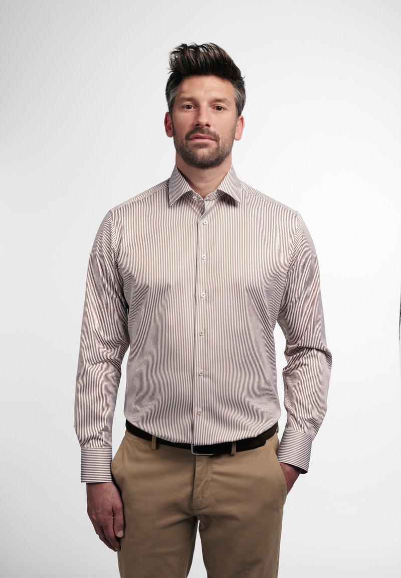 Eterna - Shirt - beige/weiss
