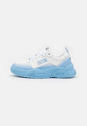 Joggesko - white/light blue