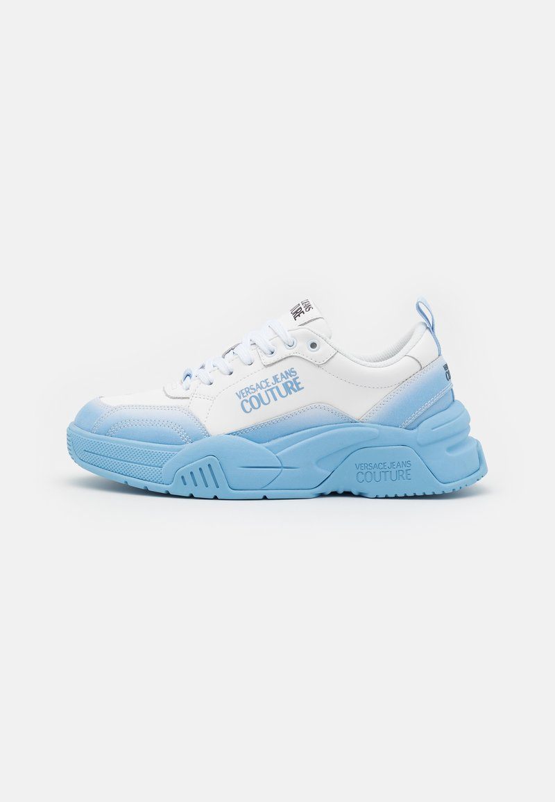 Versace Jeans Couture - Sneaker low - white/light blue