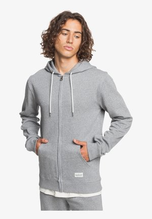 Zip-up hoodie - light grey heather