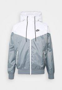 Summer jacket - smoke grey/white/black