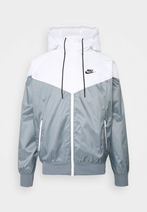 Summer jacket - smoke grey/white/black