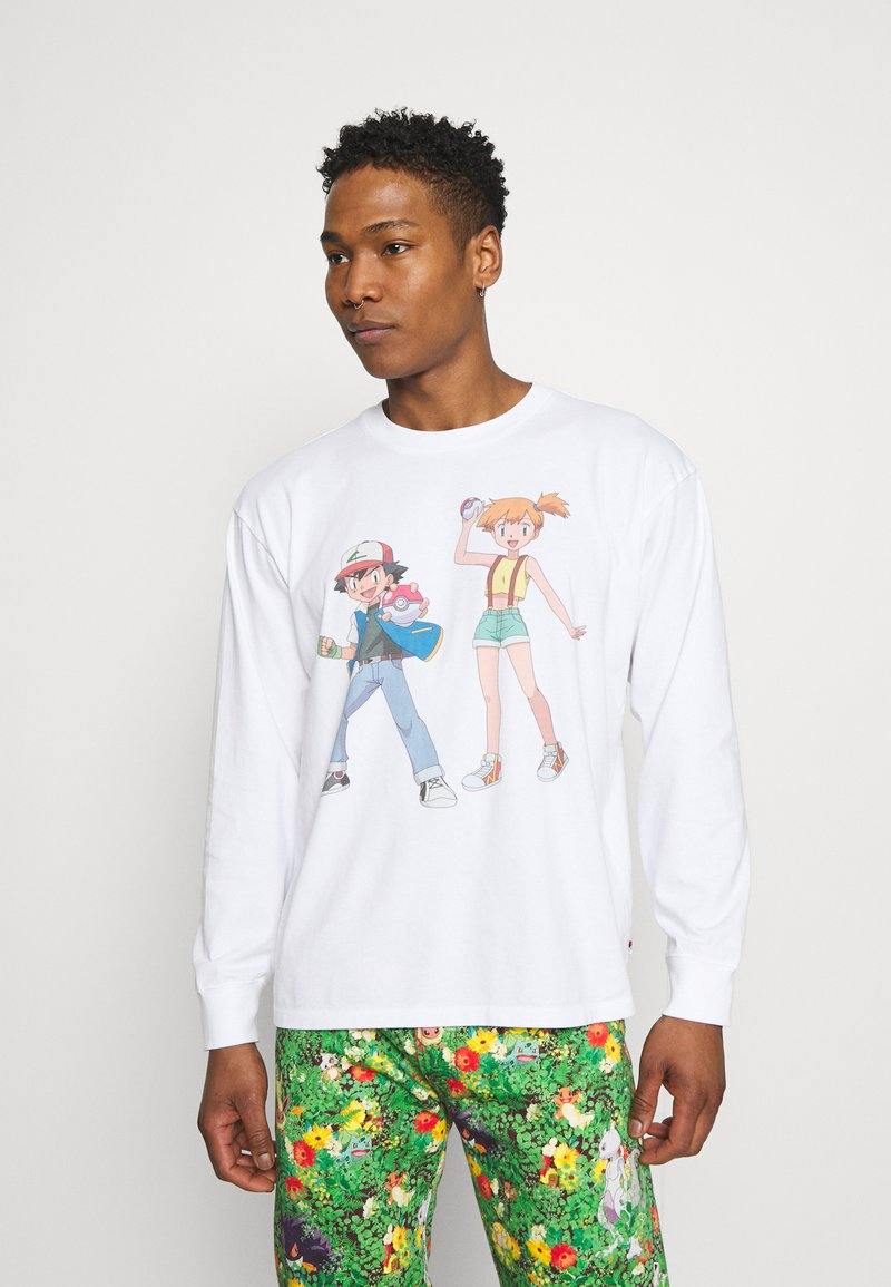 Levi's® - LEVI'S® X POKÉMON LS UNISEX TEE - Long sleeved top - white