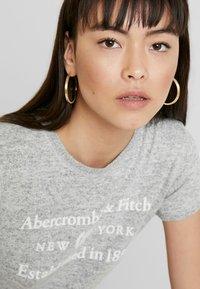 Abercrombie & Fitch - COZY LOGO TEE - Print T-shirt - grey - 3