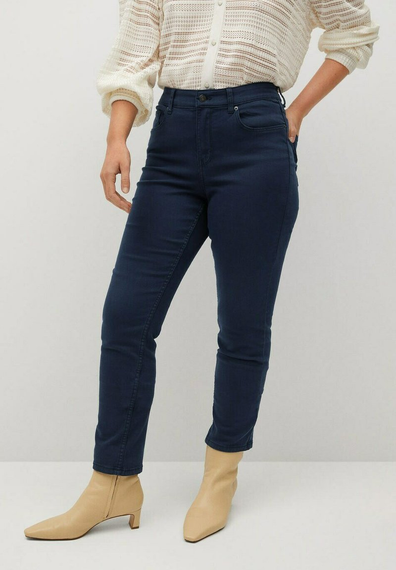 Violeta by Mango - JULIE - Slim fit jeans - donkermarine