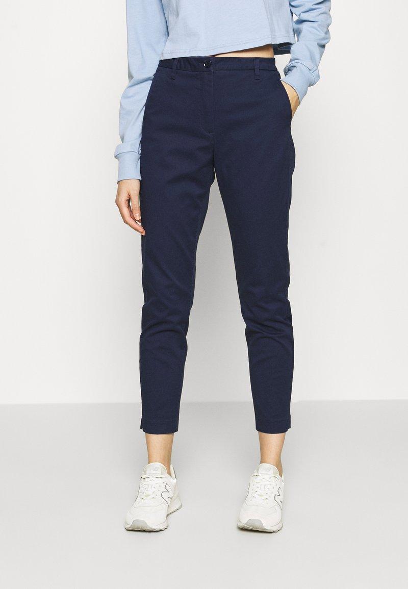 Sisley - Chino kalhoty - dark blue
