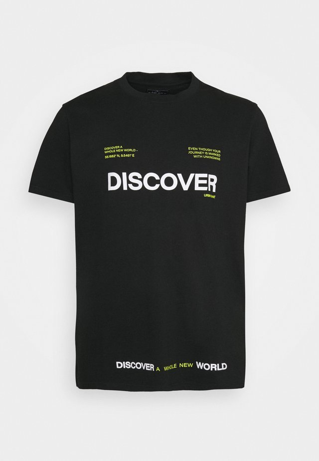 SONAR TEE - Print T-shirt - black